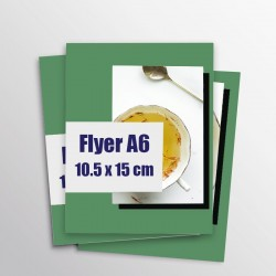 Les flyers A6 Éco