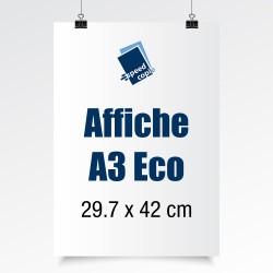 Les affiches A3 Eco