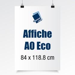 Les affiches A0 Eco