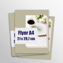 Les flyers A4 Express